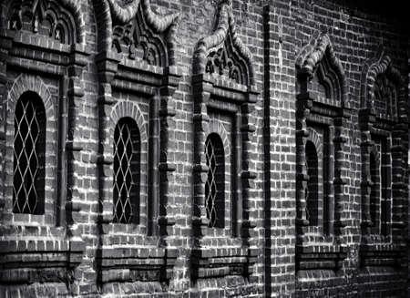 ancient facade Archivio Fotografico - 123095835