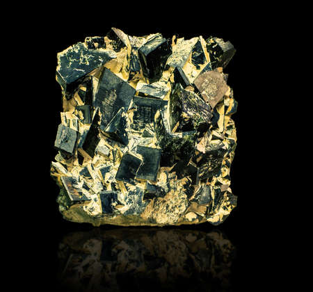 the Hedenbergite CaFe2 (SiO6) isolated