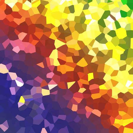 vector abstract gradiental polygonal landscape Banco de Imagens