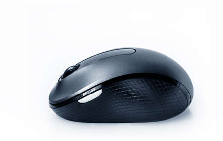 the wireless pc mouse, isolated Standard-Bild