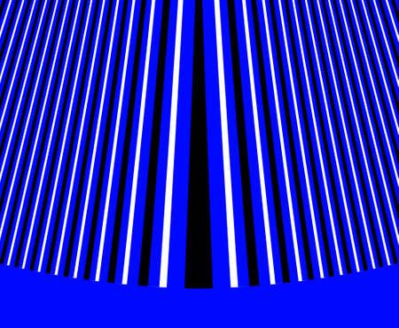 duotone linear abstraction, digital illustration