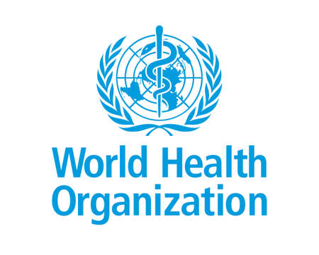 logo of the World Health Organization (WHO) by UN