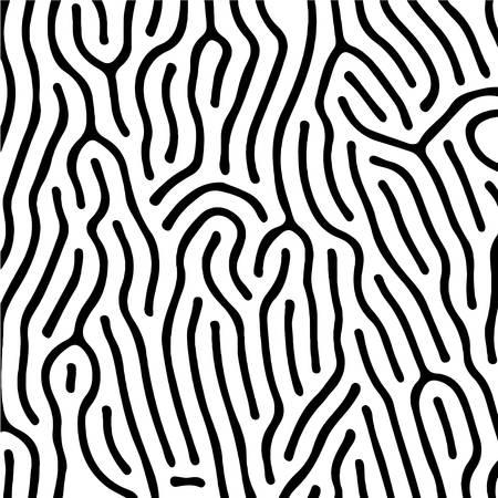 dactyloscopic finger print seamless pattern 矢量图像
