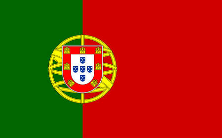 close up of Portugal flag