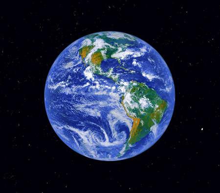 Planet Erde. Digital verändert.