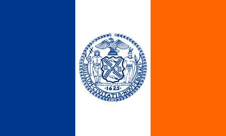 Flag of New York City, USA