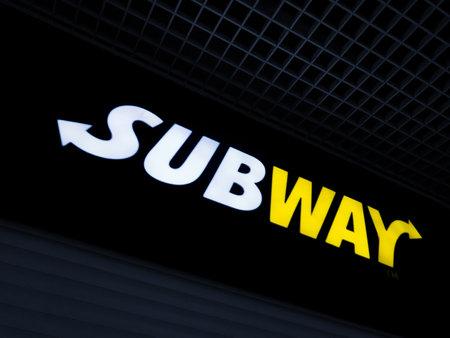2020: Subway, the worldwide fast food restaurant