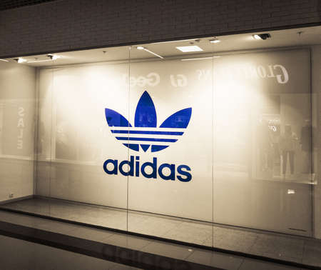 2020: storefront of the Adidas