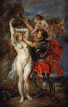 Perseus And Andromeda by Peter Paul Rubens, 1640. the Prado Museum in Madrid, Spain