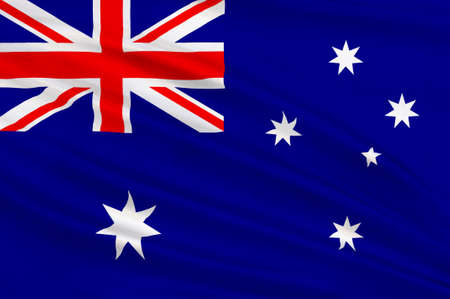 numerous: Flag of Australia is an Oceanian country comprising the mainland of the Australian continent, the island of Tasmania and numerous smaller islands. 3d illustration