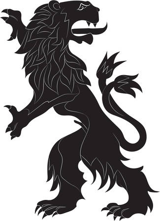 rebels: The rebels lion - the heraldic symbol used in the flags and coats of arms