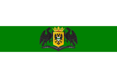 Flag of Groningen is the main municipality as well as the capital city of the eponymous.