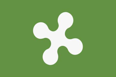 롬바르디아 (Lombardy)의 국기는 이탈리아 북서부의 20 개 행정 구역 중 하나입니다. 벡터 일러스트 레이 션 일러스트