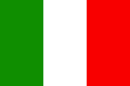 Flag of Italy officially the Italian Republic is a unitary parliamentary republic in Europe. Vector illustration