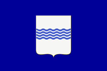 lucania: Flag of Basilicata also known as Lucania, is a region in the south of Italy. Vector illustration