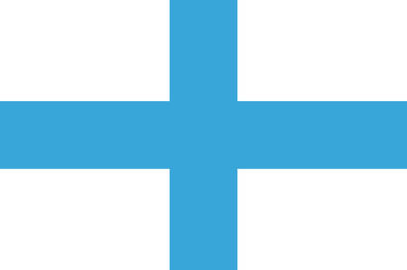 Flag of Marseille is a capital of the Bouches-du-Rhone department and Provence-Alpes-Cote dAzur region in France. Vector illustration