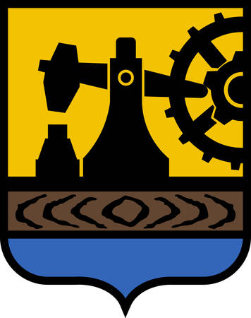 Coat of arms of Silesian Voivodeship or Silesia Province in southern Poland. Vector illustration Ilustracja