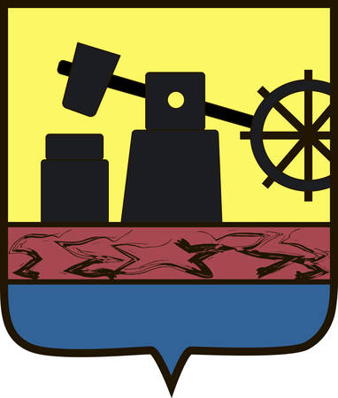 Coat of arms of Silesian Voivodeship or Silesia Province in southern Poland. Vector illustration from the