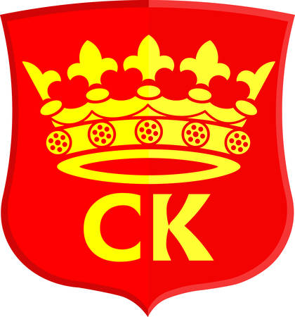 gdansk: Coat of arms of Kielce is a capital city of Swietokrzyskie Voivodeship in south central Poland. Vector illustration Illustration