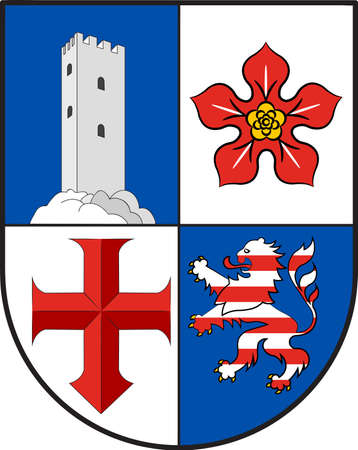 Coat of arms of Bergstrasse