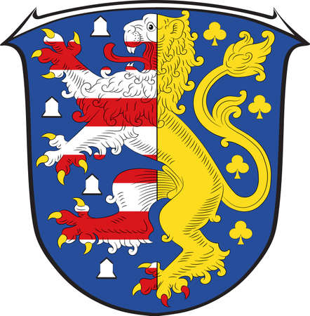 Coat of arms of Hochtaunuskreis Illustration