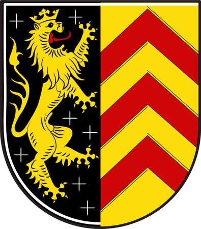 Coat of arms of Hanau Illustration