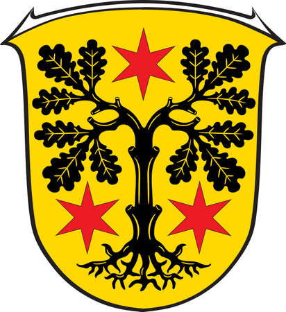 Coat of arms of Odenwaldkreis Illustration