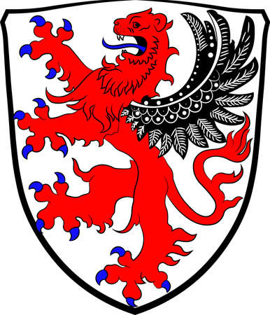 Coat of arms of Giessen Illustration