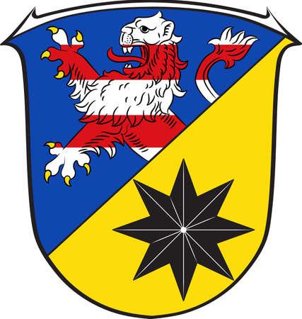 hessen: Coat of arms of Waldeck-Frankenberg Illustration