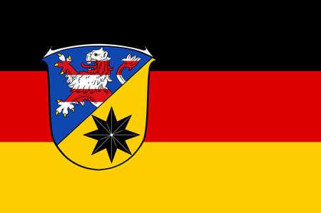 hessen: Flag of Waldeck-Frankenberg