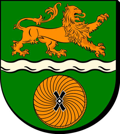 Coat of arms of Seevetal is a municipality in the district of Harburg, in Lower Saxony, Germany.
