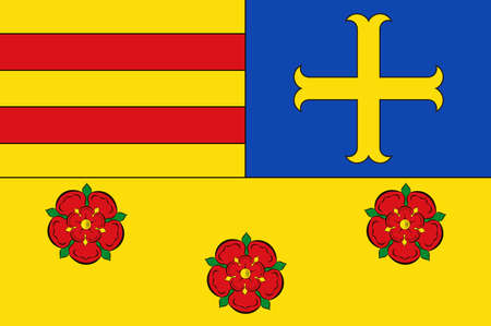 Flag of Oldenburg is a district in the state of Lower Saxony, Germany.
