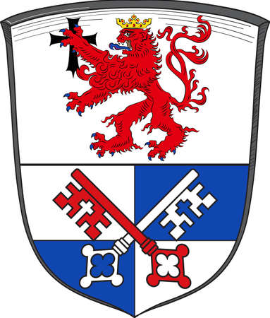Coat of arms of Rotenburg is a district in Lower Saxony, Germany.