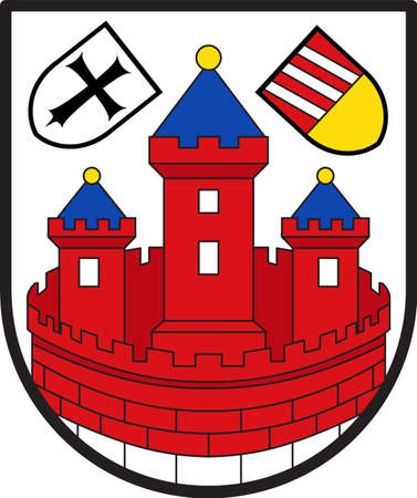 Coat of arms of Rotenburg is a town in Lower Saxony, Germany.