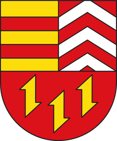 Coat of arms of Vechta is a district in Lower Saxony, Germany.