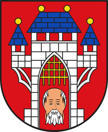 Coat of arms of Vechta is the biggest city and  the capital of the Vechta district in Lower Saxony, Germany.