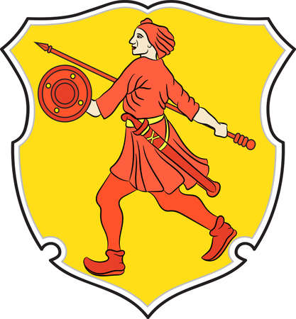 Coat of arms of Wilhelmshaven is a coastal town in Lower Saxony, Germany.