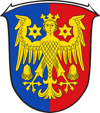 Coat of arms of Aurich is a district in Lower Saxony,