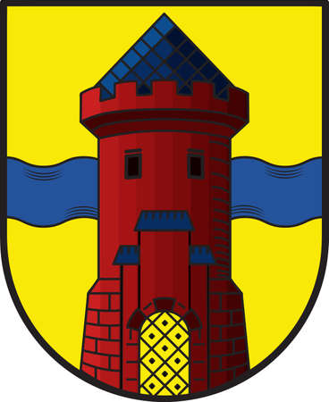 Coat of arms of Delmenhorst is an urban district in Lower Saxony, Germany.