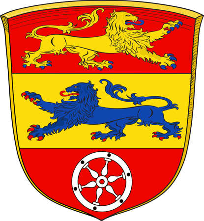 Coat of arms of Goettingen is a district in Lower Saxony, Germany.
