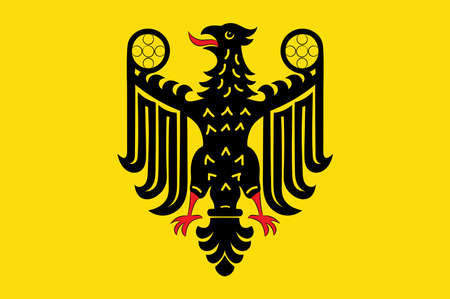 Flag of Goslar is a historic town in Lower Saxony, Germany.