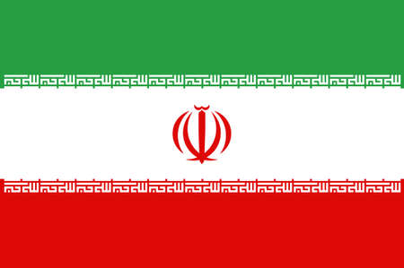 Flag of Iran formerly known as Persi officially the Islamic Republic of Iran is a sovereign state in Western Asia. 3d illustration