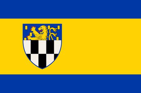 Flag of Wilnsdorf is a municipality in the district of Siegen-Wittgenstein, in North Rhine-Westphalia, Germany.