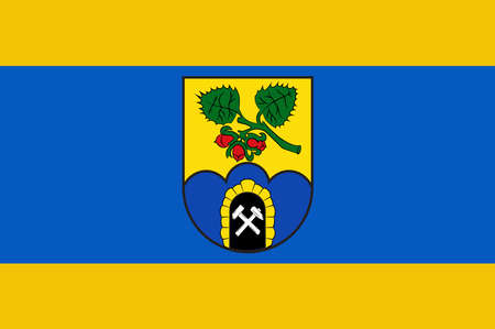 Flag of Sprockhoevel is a town in the district of Ennepe-Ruhr-Kreis, North Rhine-Westphalia, Germany.