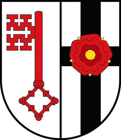 Coat of arms of Soest is a district in the middle of North Rhine-Westphalia, Germany.