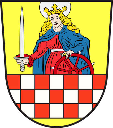 Coat of arms of Altena is a town in the district of Maerkischer Kreis, North Rhine-Westphalia, Germany.