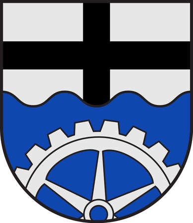 Coat of arms of Wickede is a municipality in the district of Soest, in North Rhine-Westphalia, Germany.