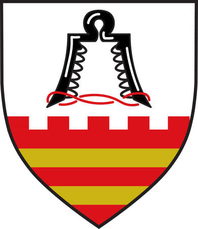 Coat of arms of Ense is a municipality in the district of Soest, in North Rhine-Westphalia, Germany.