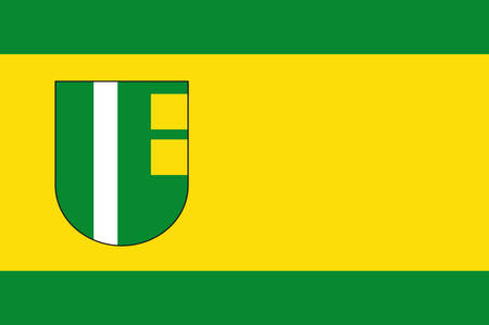 Flag of Erftstadt is a town in the Rhein-Erft-Kreis, state of North Rhine-Westphalia, Germany.