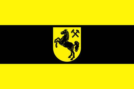 Flag of Herne is a city in North Rhine-Westphalia, Germany.